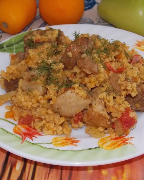Рецепт второго блюда из телятины