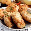 Котлеты из курицы и капусты в духовке