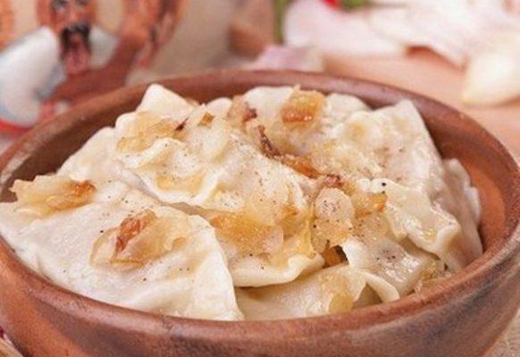 Вареники с квашеной капустой – пошаговый рецепт